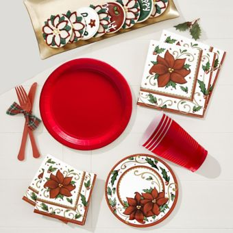 Winter Botanical Tableware Kit for 100 Guests