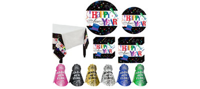 Ring in the New Year Ultimate Tableware Kit for 120 People