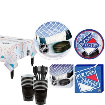 New York Rangers Basic Party Kit for 16 Guests
