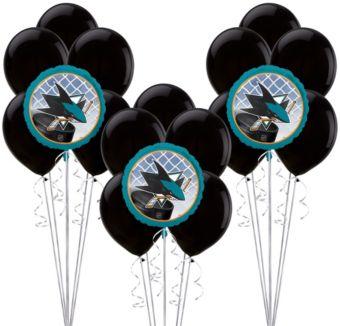 San Jose Sharks Balloon Kit