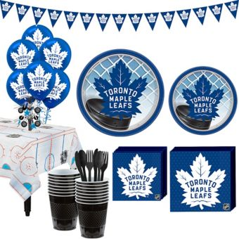 Toronto Maple Leafs Super Party Kit for 16 Guests