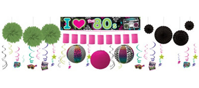 Totally 80s Deluxe Decorating Kit