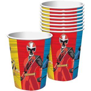 Power Rangers Ninja Steel Cups 8ct