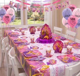Rapunzel Super Party Kit for 8 Guests