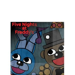 Five Nights at Freddy's Beverage Napkins 16ct