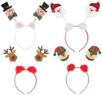 Child Christmas Headband Accessory Kit