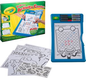 Crayola Dry Erase Activity Center 30pc