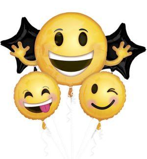 Smiley Balloon Bouquet 5pc