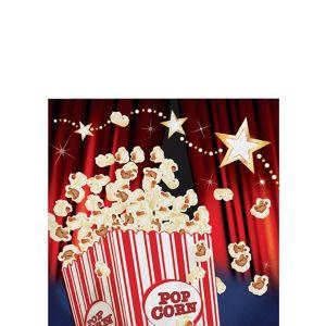 Hollywood Movie Night Beverage Napkins 16ct