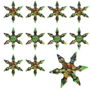 Teenage Mutant Ninja Turtles Ninja Stars 24ct