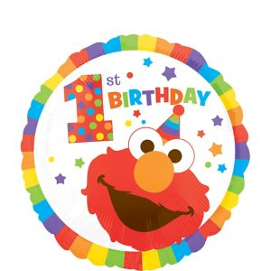 1st Birthday Elmo Balloon