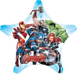 Giant Avengers Star Balloon