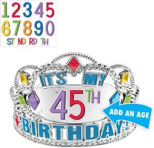 Rainbow Happy Birthday Tiara Kit