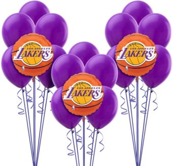 Los Angeles Lakers Balloon Kit
