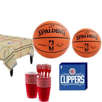 Los Angeles Clippers Basic Party Kit 16 Guests