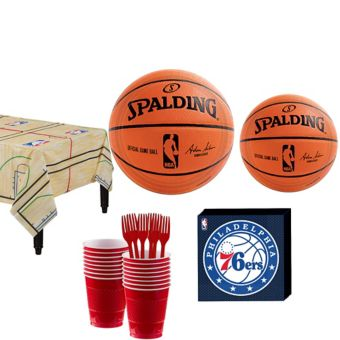 Philadelphia 76ers Basic Party Kit 16 Guests