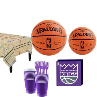 Sacramento Kings Basic Party Kit 16 Guests