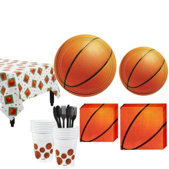 Basketball Basic Party Kit 8 Guests