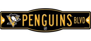 Pittsburgh Penguins Street Sign