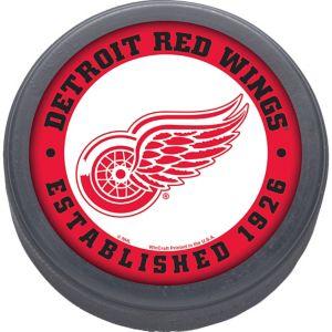 Detroit Red Wings Hockey Puck