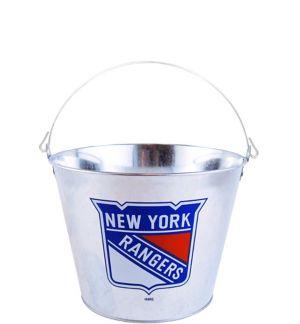 New York Rangers Galvanized Bucket