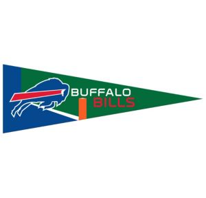 Small Buffalo Bills Pennant Flag