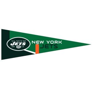 Small New York Jets Pennant Flag