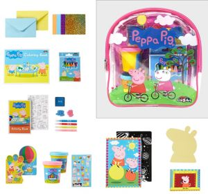 Peppa Pig Activity Backpack Art Set 112pc
