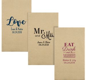 Personalized Wedding Eco-Friendly Guest Towels