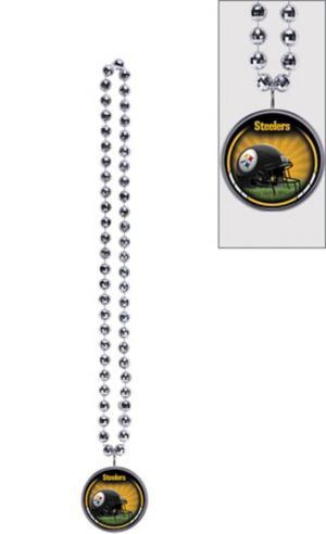 Pittsburgh Steelers Bottle Opener Bead Necklace