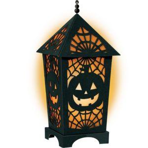 Light-Up LED Halloween Lantern
