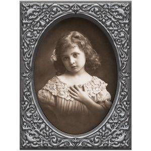 Girl Zombie Lenticular Portrait Decoration