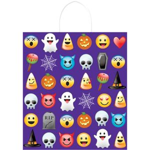 Smiley Trick-or-Treat Bag