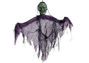 Mini Scary Witch Decoration