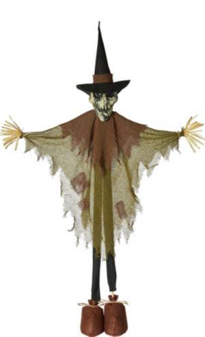 Giant Standing Creepy Scarecrow Decoration