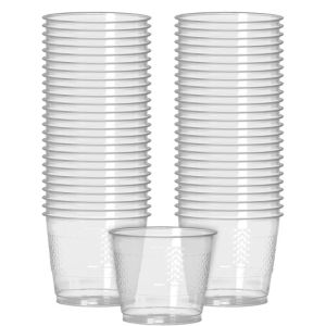 Big Party Pack CLEAR Plastic Cups 50ct