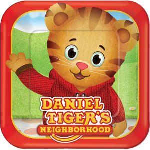 Daniel Tiger's Neighborhood Lunch Plates 8ct