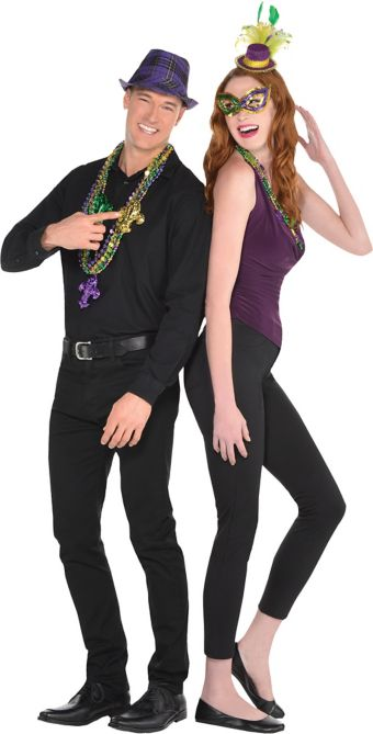Adult Mardi Gras Couples Accessory Kit