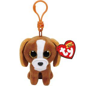 Clip-On Tala Beanie Boo Dog Plush
