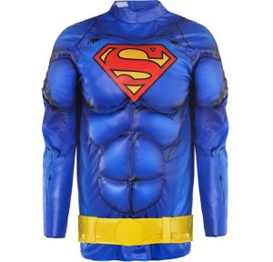 Child Blue Superman Muscle Costume Accessory Kit 2pc