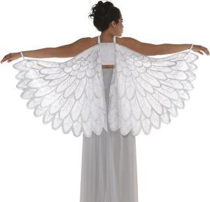 Adult Snow Fantasy Angel Wings
