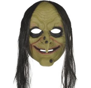 Adult Green Witch Mask