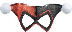 Glitter Harley Quinn Mask - Batman