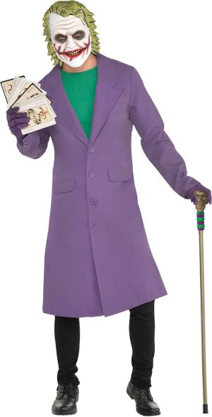 Adult Joker Jacket - The Dark Knight 3