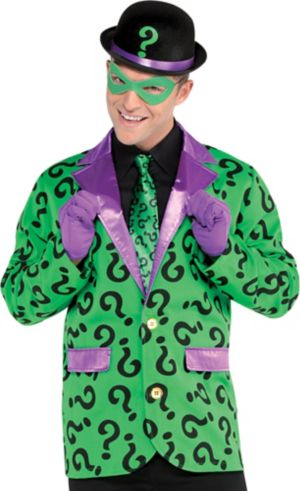 Adult Riddler Jacket - Batman