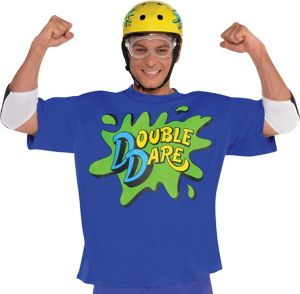 Blue Double Dare Costume Accessory Kit - Nickelodeon