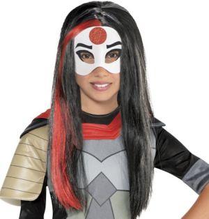 Child Sassy Katana Wig - DC Super Hero Girls