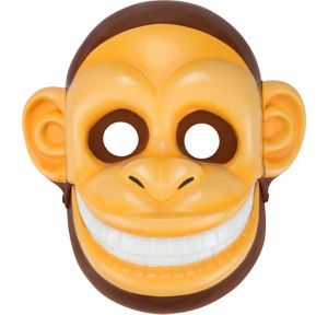 Adult Talking Monkey Mask with Moving Mouth
