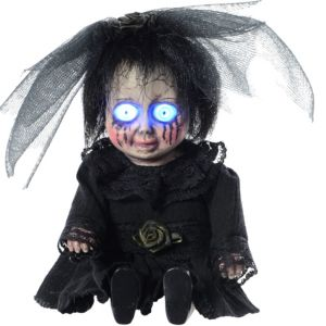 Light-Up Mourning Zombie Baby with Sound Effects