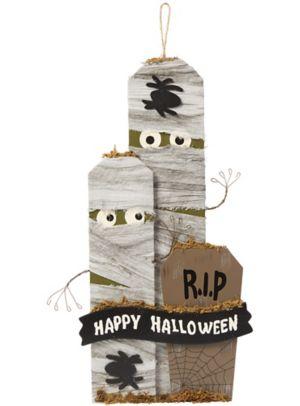 Mummy Graveyard Sign